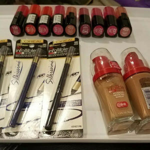 Other - Loreal Paradise 14 pieces shelf pulls opened